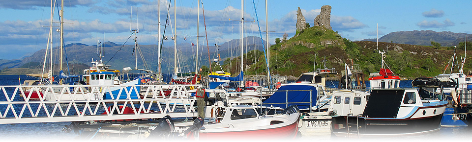 Photo of Boats in Kyleakin Harbour, Isle of Skye